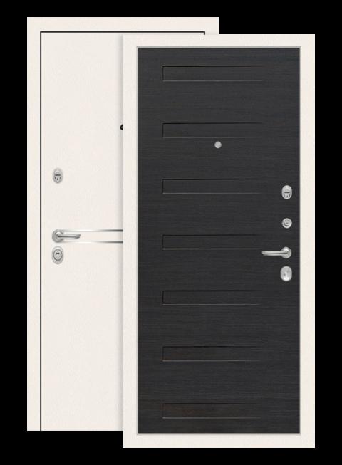 Входная дверь Лабиринт Лайн вайт 14 Эковенге поперечный