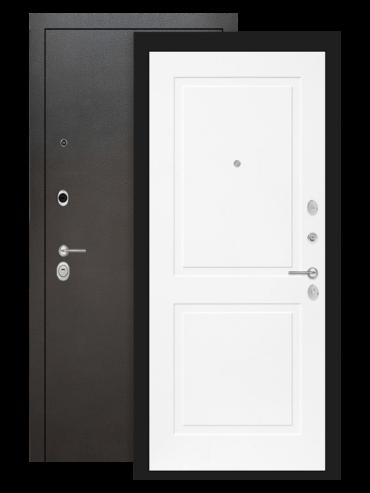 Входная дверь Лабиринт Сильвер 11 Белый софт