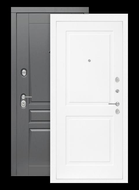 Входная дверь Лабиринт Платинум 11 Белый софт