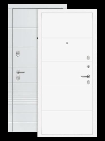 Входная дверь Лабиринт Трендо 13 Белый софт