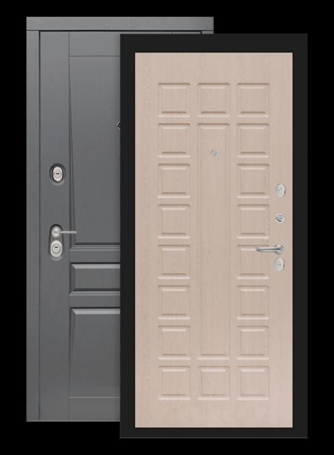Входная дверь Лабиринт Платинум 04 Белёный дуб