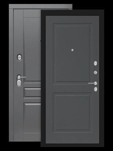 Входная дверь Лабиринт Платинум 11 графит софт