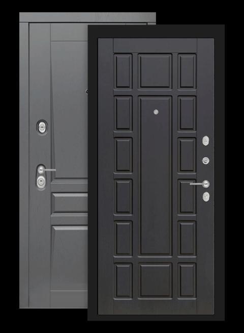 Входная дверь Лабиринт Платинум 12 Венге