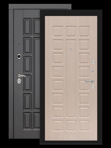Входная дверь Лабиринт Нью-Йорк 04 белёный дуб