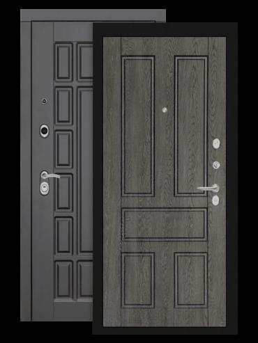 Входная дверь Лабиринт Нью-Йорк 10 дуб филадельфия графит